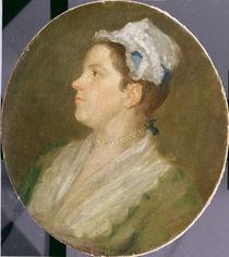 Anne Hogarth , c.1740 by William Hogarth