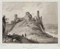 View of Berwick Castle, Berwick-upon-Tweed von Francois Alexandre Pernot