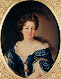 Portrait of Marie-Anne Mancini Princess Colonna von Pierre Mignard