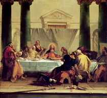 The Last Supper, 1745-50 von Giovanni Battista Tiepolo