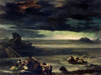 Scene of the Deluge, 1818-20 by Theodore Gericault