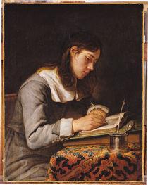 Young Man Writing by Joos van Craesbeeck