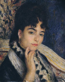 Portrait of Madame Alphonse Daudet 1876 by Pierre-Auguste Renoir
