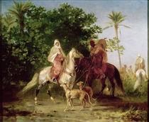 Departing for the Hunt von Eugene Fromentin