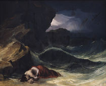 The Storm, or The Shipwreck von Theodore Gericault