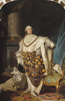 Louis XVI in Coronation Robes by Joseph Siffred Duplessis
