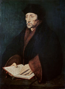 Portrait of Desiderius Erasmus of Rotterdam von Hans Holbein the Younger