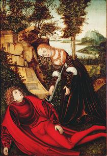 Pyramus and Thisbe by Lucas, the Elder Cranach