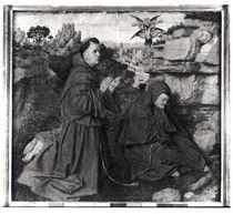 St. Francis Receiving the Stigmata by Hubert & Jan van Eyck