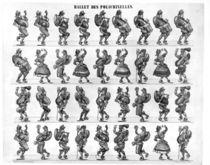Ballet of the Polichinelles von French School