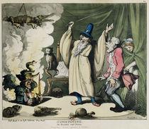 Humbugging or Raising the Devil von Thomas Rowlandson