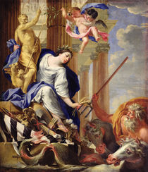 Ceres Vanquishing the Attributes of War by Simon Vouet