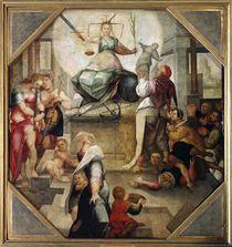 Justice by Domenico Beccafumi