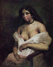 A Mulatto Woman, c.1821-24 von Ferdinand Victor Eugene Delacroix