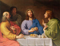 The Supper at Emmaus von Philippe de Champaigne