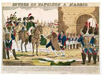 Triumphant Entry of the French into Madrid by French School