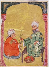 Ahmet III, 2127 Illustration from 'De Materia Medica' by Dioscorides by Mesopotamian