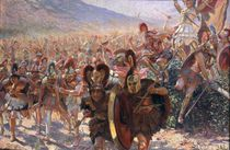 Ancient Warriors by Georges Marie Rochegrosse