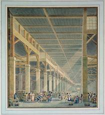 View of 'La Halle aux Vins' von Auguste Hibon