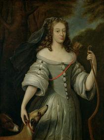 Portrait of Francoise Louise de la Baume le Blanc Duchesse de Vaujour von Claude Lefebvre