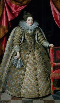 Portrait of Elisabeth of France 1615 von Frans II Pourbus
