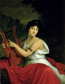 Portrait of Madame de la Pleigne von Francois Pascal Simon Gerard