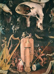 The Garden of Earthly Delights: Hell von Hieronymus Bosch