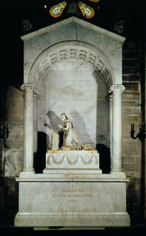 Tomb of Empress Josephine 1825 by Pierre Cartellier