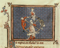 Ms 1044 Fol.74 The Wheel of Fortune von French School