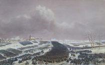 The Battle of Eylau, 8th February 1807 by Jean Antoine Simeon Fort