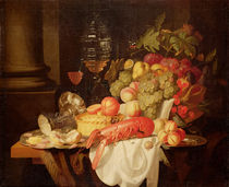 Still Life with Lobster von Johannes Hannot
