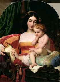 The Childhood of Pico della Mirandola 1842 by Hippolyte Delaroche