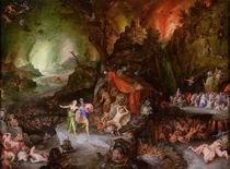 Aeneas and the Sibyl in the Underworld by Jan Brueghel the Elder