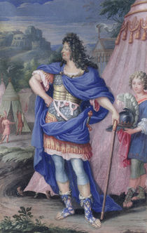 Portrait of Louis XIV King of France by French School