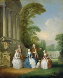 Portrait of a Family, 1740 by Joseph Francis Nollekens