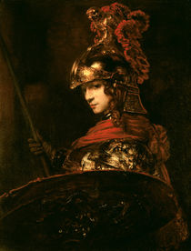 Pallas Athena or, Armoured Figure by Rembrandt Harmenszoon van Rijn