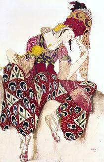 Costume design for Nijinsky in the ballet 'La Peri' by Paul Dukas 1911 by Leon Bakst