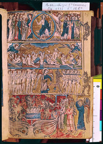Ms 1273 f.19r The Last Judgement von French School