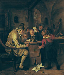 The School Master, 1626-79 von Jan Havicksz Steen