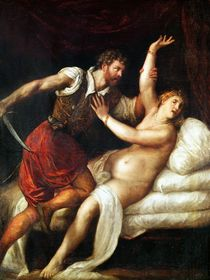 The Rape of Lucretia by Titian