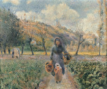 In the Garden von Camille Pissarro