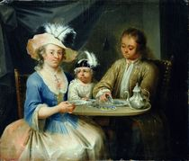 Family Portrait, c.1760 by German School