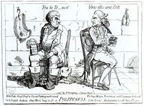 Politeness von James Gillray