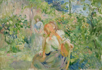 In the Garden at Roche-Plate by Berthe Morisot