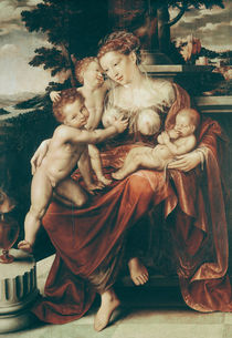 Charity, 1544-58 by Jan Massys or Metsys