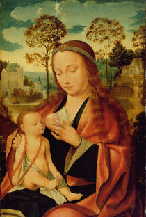 Mary with the Christ Child by Dutch School