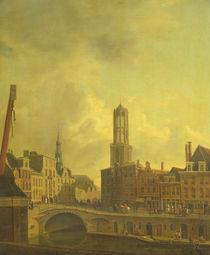 Utrecht Street Scene von Dutch School