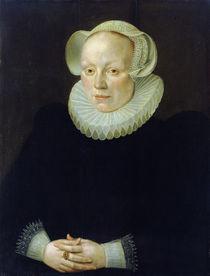 Portrait of a Woman von German School