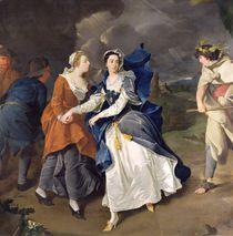 Mrs Cibber as Cordelia, 1755 by Pieter van Bleeck