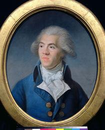 Portrait presumed to be Antoine Barnave 1791 by Joseph Boze